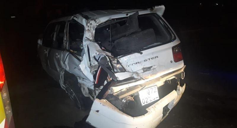 Один человек скончался, трое пострадали в результате аварии в Алматы
