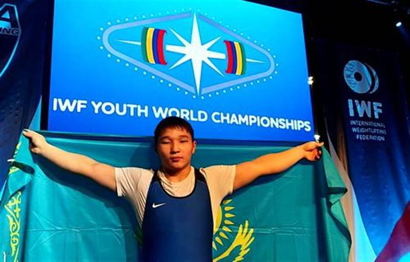 Бекболат Рахат ауыр атлетикадан Азия чемпионатында алтын алды