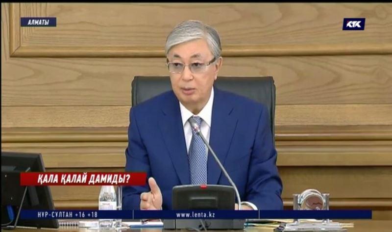 Алматының дамуына қатысты алқалы жиында президент Тоқаев не деп айтты?