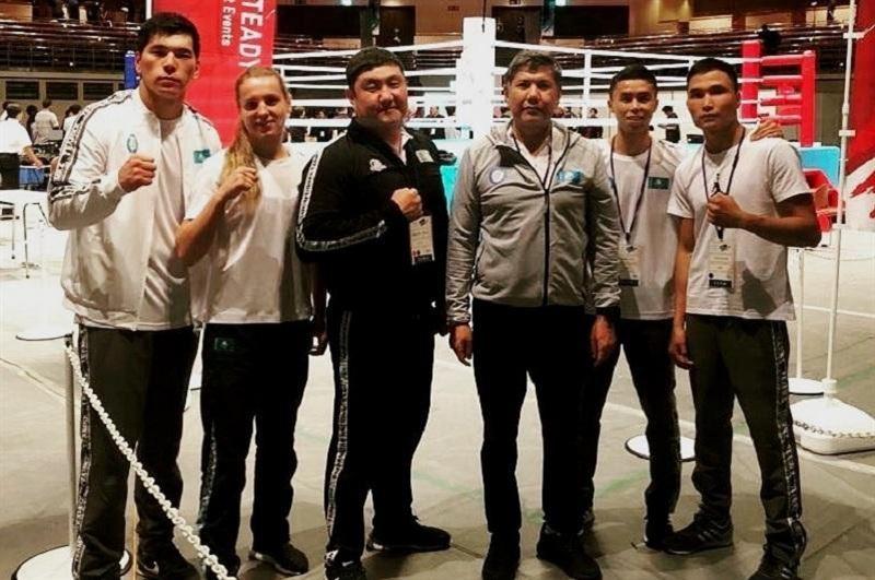 Қазақстандық боксшылар Токиодағы турнирде қос алтын еншіледі
