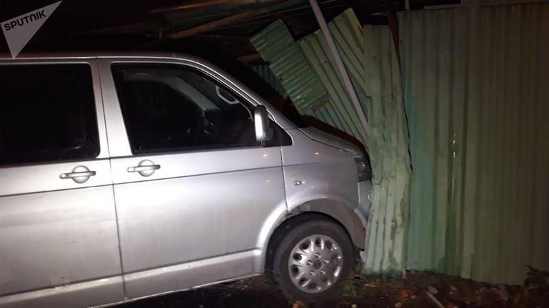 Две аварии произошли в частном секторе Алматы
