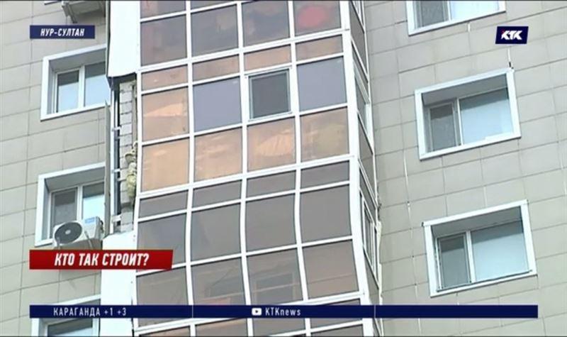 Кривой балкон и другие недоделки в столичной многоэтажке обойдутся в 23 миллиона