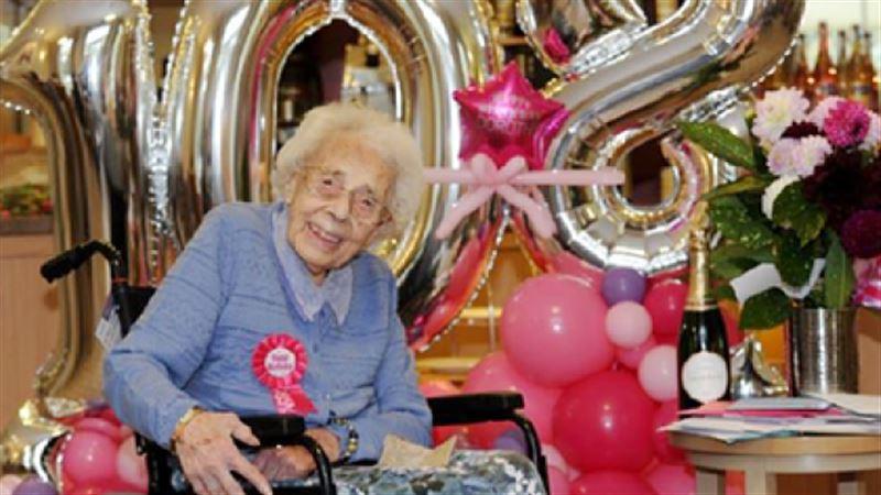 108-летняя женщина рассказала о секрете своего долголетия