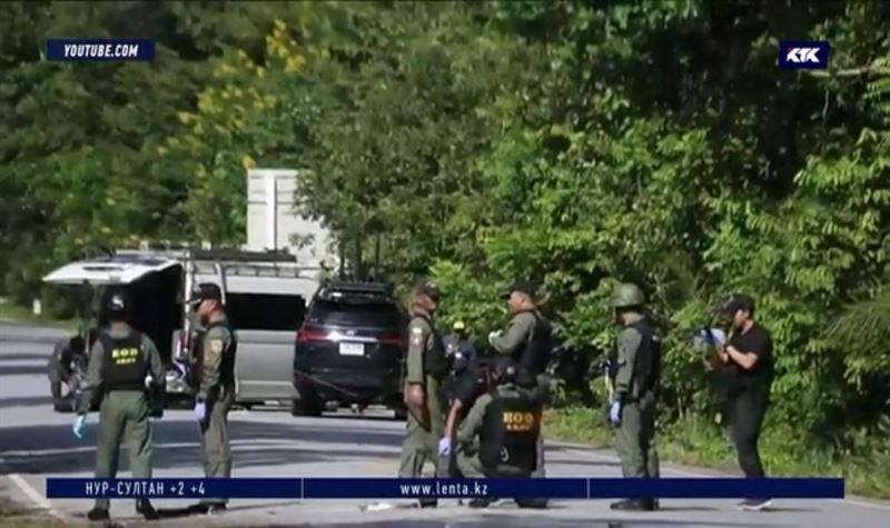 Вооружённые люди напали на КПП Таиланда