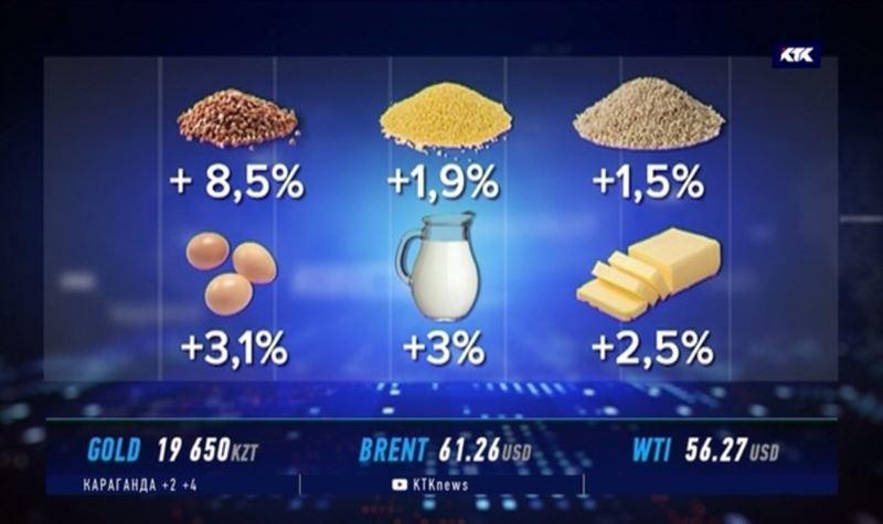 Продукты первой необходимости стали дороже почти на 10%