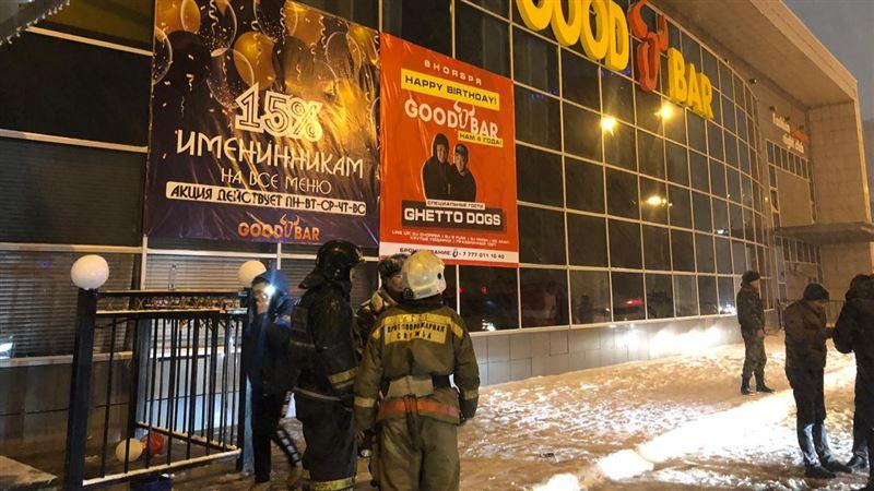 Восьмерых спасли в результате пожара в столичном ночном клубе