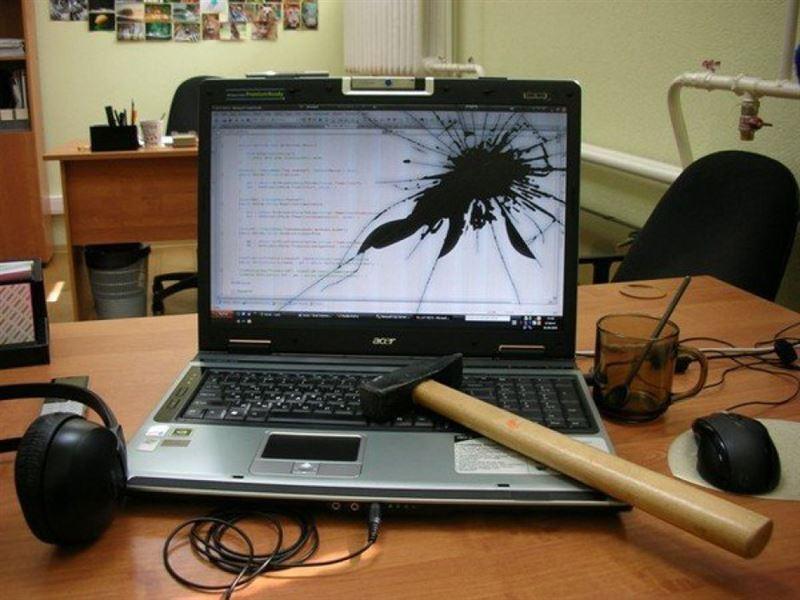 Өскеменде ер адам ойын клубындағы компьютерлерді шағып кетті