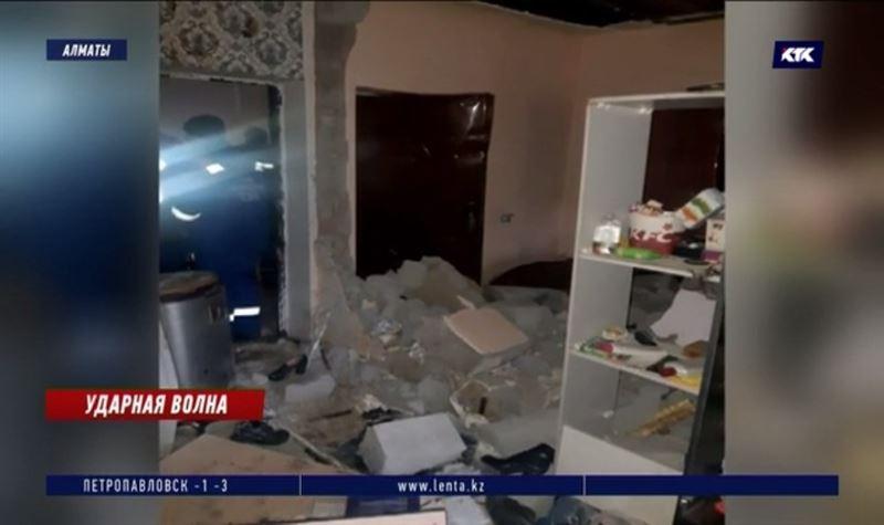 Алматинец получил 100%-ный ожог тела из-за хлопка бытового газа