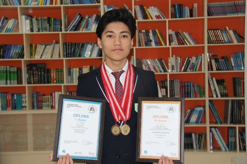 Актюбинский школьник одержал победу на олимпиаде в Анталии
