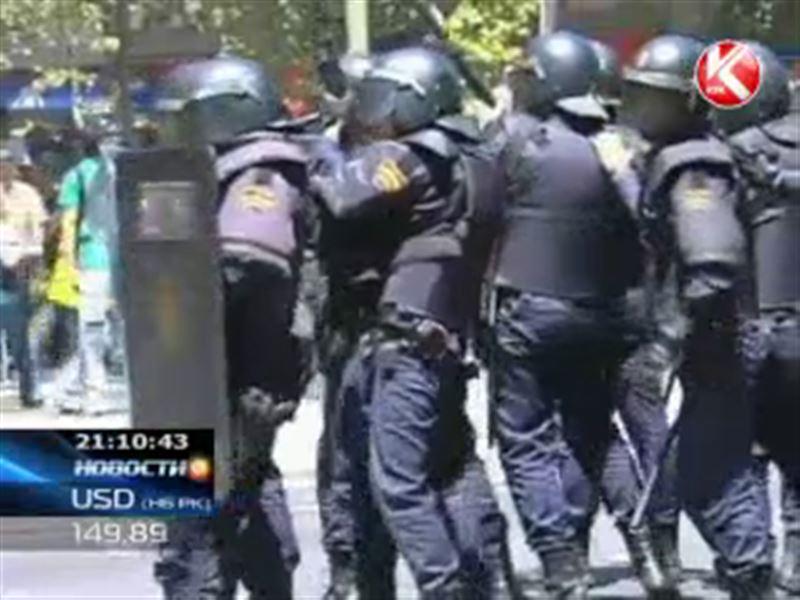 Антиправительственные выступления в Испании переросли в массовые беспорядки