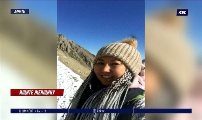 Поиски пропавшей в горах алматинки не дают результата