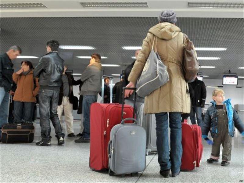 Около 34 тыс. человек уехали из Казахстана за 9 месяцев