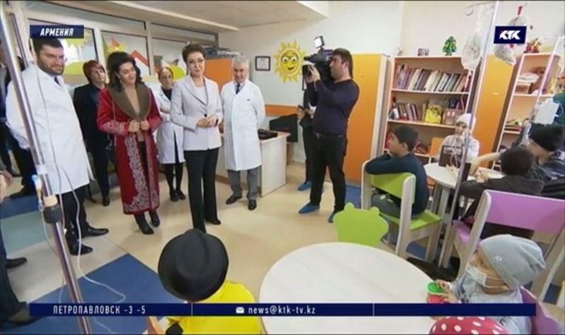 Даригу Назарбаеву приятно удивили в Армении