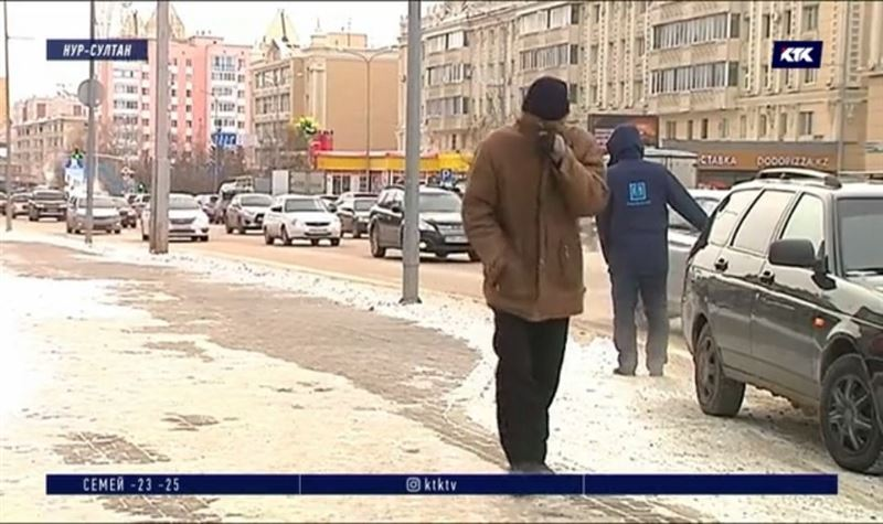 На Казахстан надвигается холод с Салехарда