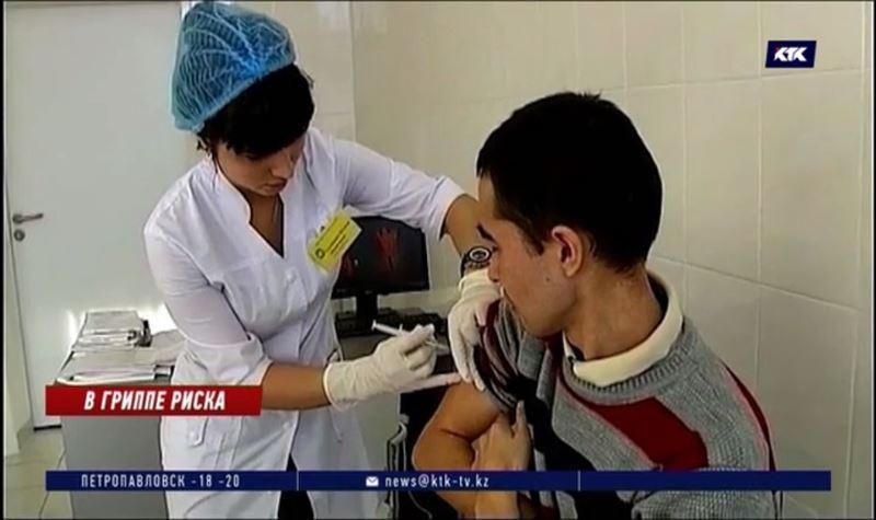 Казахстанцы начали болеть гриппом раньше обычного
