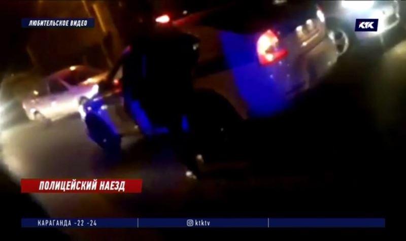 Полицейский, сбивший девушку, уволен