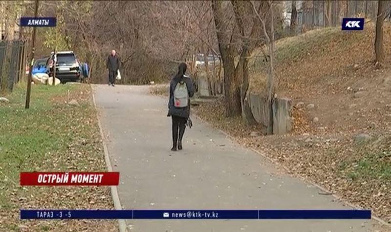12-летнюю ученицу преследовал и пытался ударить ножом неизвестный