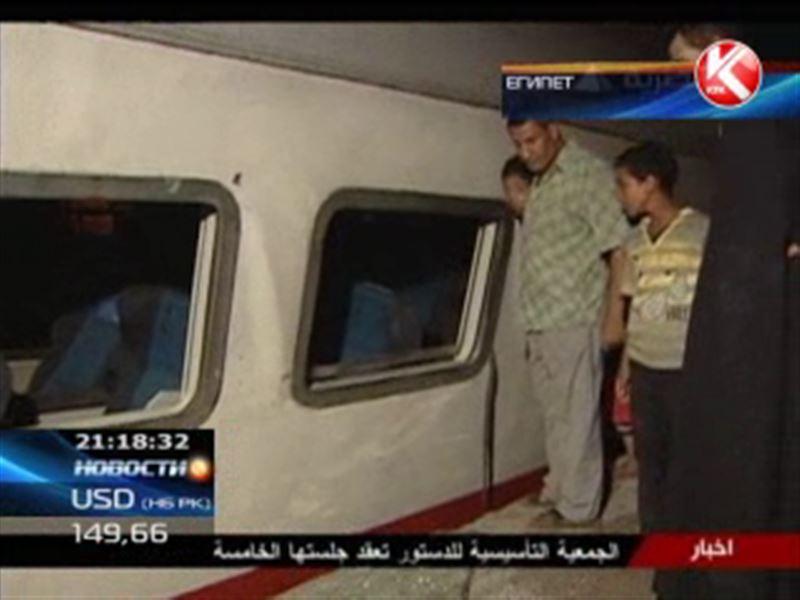 В Египте виновниками железнодорожной катастрофы стали рассерженные пассажиры