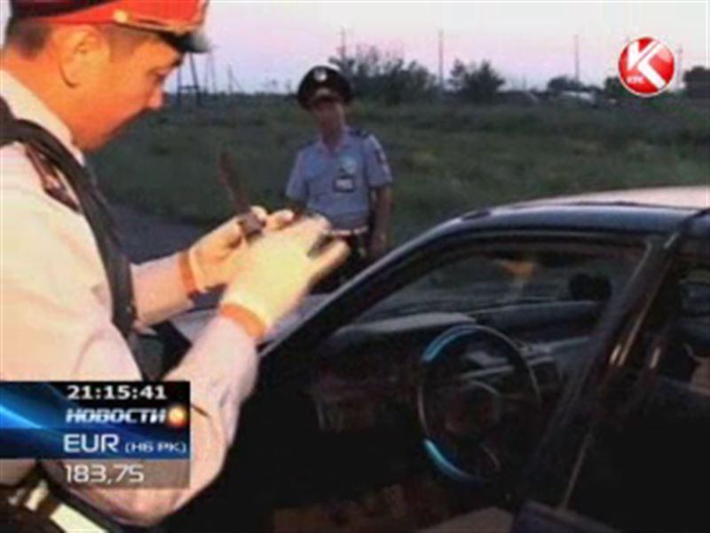 Неожиданно закончилась для карагандинских полицейских обычная погоня
