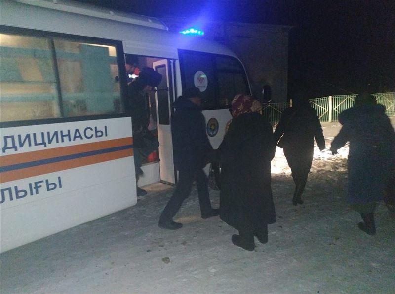 Спасатели помогли 18 пассажирам автобуса