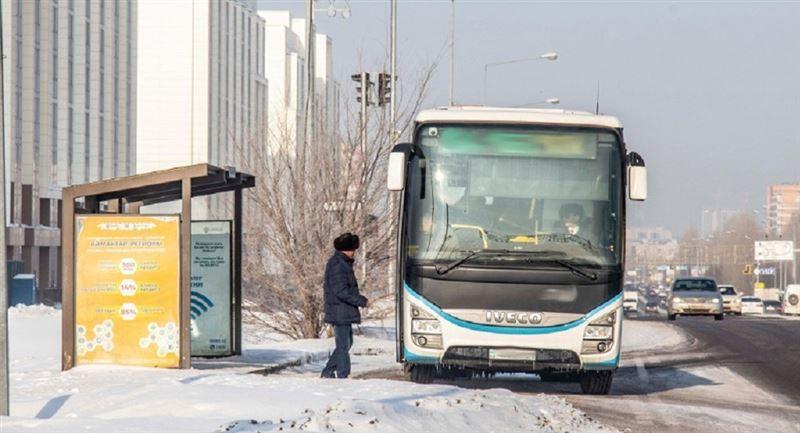 Елордада аязды күні 17 жастағы мүгедек баланы автобустан түсіріп тастаған