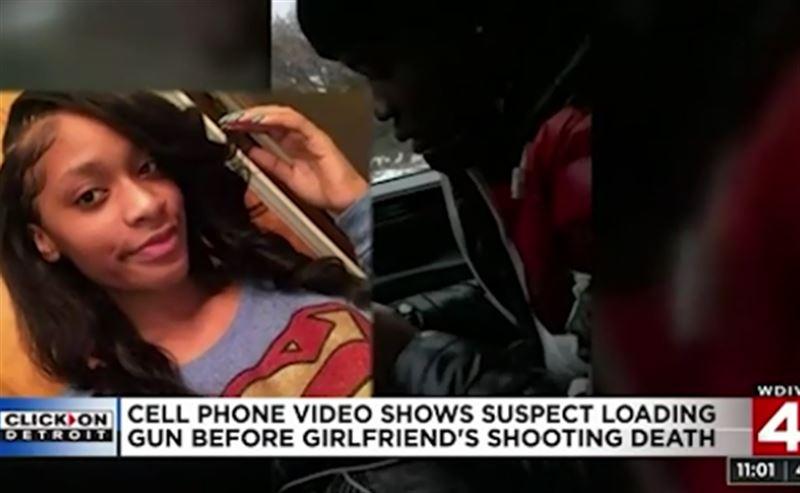 Девушка сняла видео перед тем, как ее застрелил парень