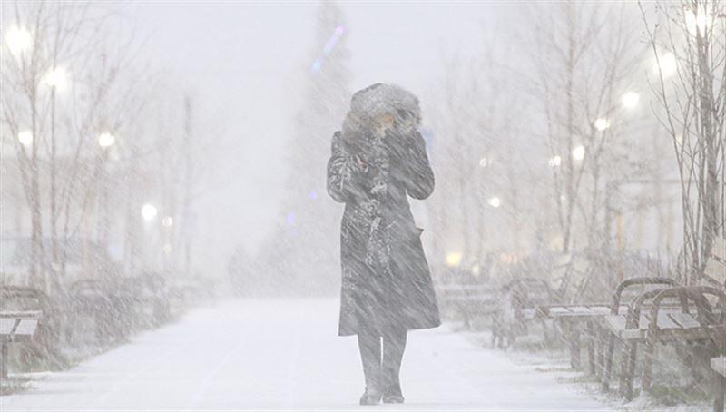 Осадки прогнозируют в Казахстане в понедельник, 25 ноября