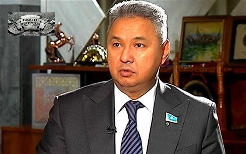 Азат Перуашев, председатель демократической партии «Ак Жол», депутат Мажилиса Парламента РК