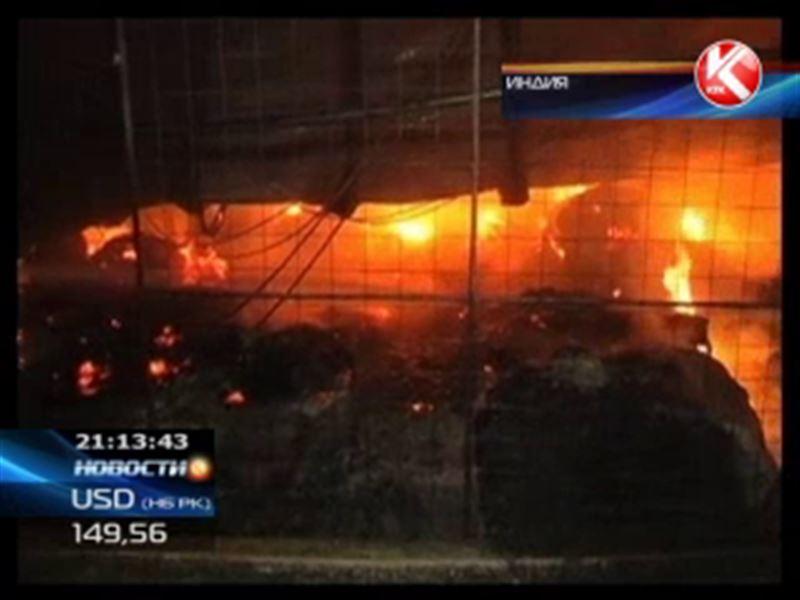 В Индии дотла сгорел завод