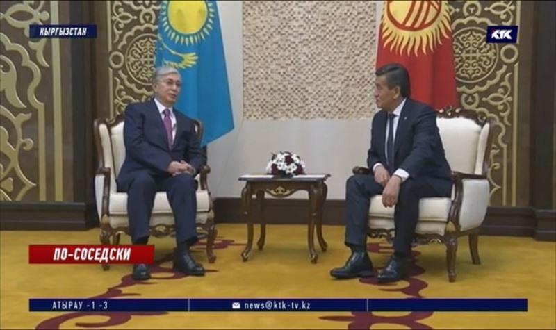 Президенты Казахстана и Кыргызстана встретились в Бишкеке