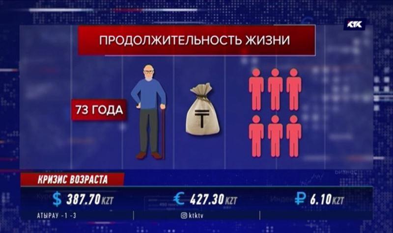 Аналитики отмечают увеличение числа казахстанцев преклонного возраста