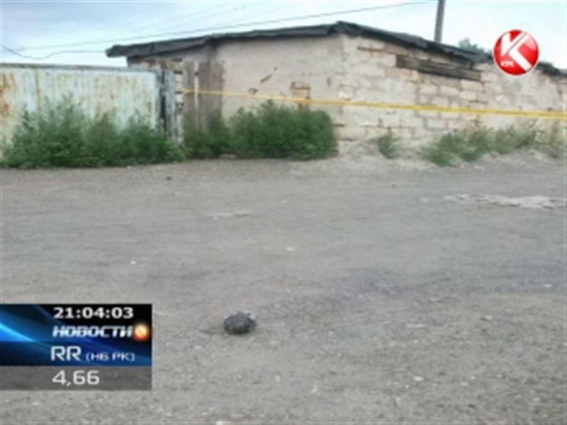 Разбушевавшийся карагандинец кинул в полицейских боевую гранату
