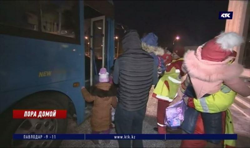 В столицу доставили детей казахстанок, приговорённых к пожизненному заключению в Ираке
