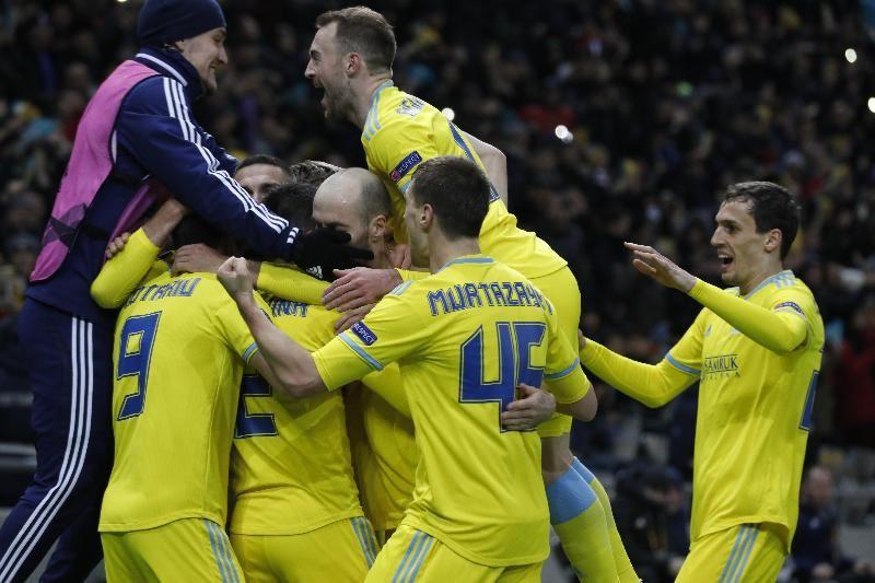 Тарихи жеңіс: «Астана» «Манчестер Юнайтедті» ұтты