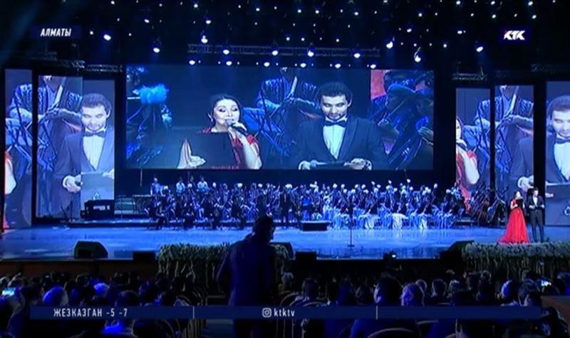 Юбилейный концерт консерватории имени Курмангазы собрал аншлаг