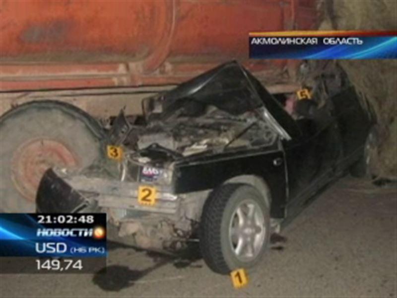 Жуткая авария произошла в Акмолинской области
