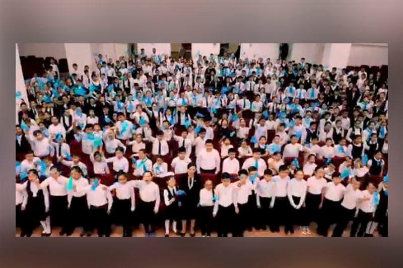Павлодар оқушыларының челленджі әлеуметтік желіні дүр сілкіндірді