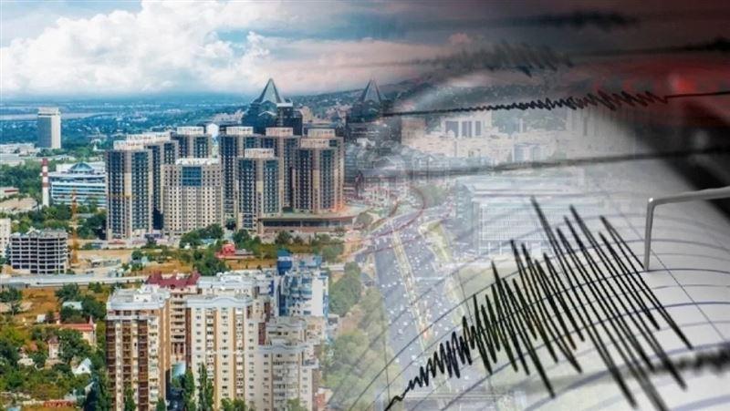 Алматы облысында жер сілкінді