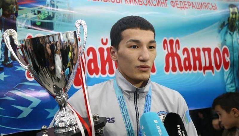 Атыраулық кикбоксшы екі дүркін әлем чемпионы атанды