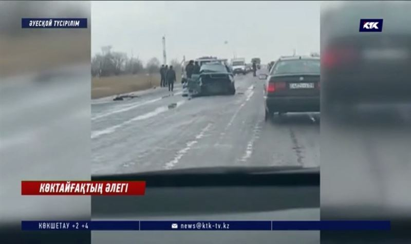 Ескерту! Қарағанды облысында көктайғақтан 20-дан аса жол апаты тіркелді