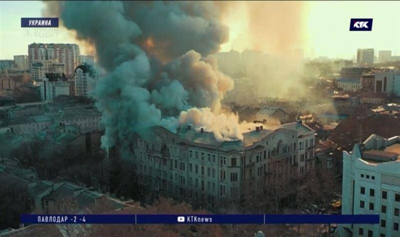 В Одессе во время пожара в колледже погибла преподавательница, судьба 15 человек неизвестна