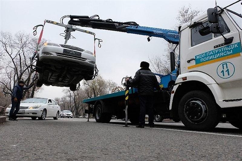 У неплательщиков в Алматы начали изымать авто