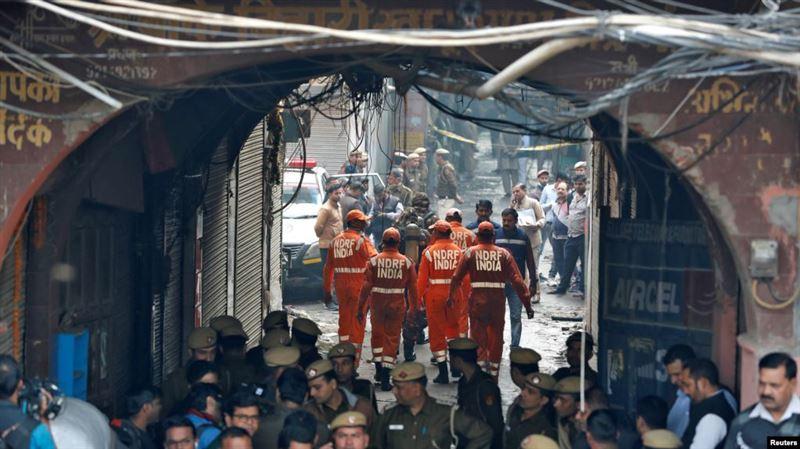 Фабрикада өрт шығып, 43 адам қаза тапты