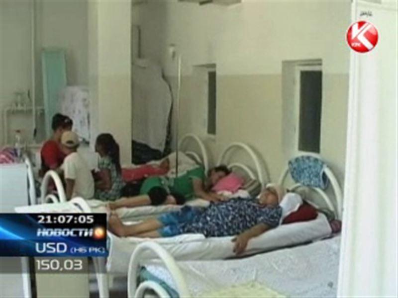 В Шымкенте онкобольные вынуждены ютиться в коридорах