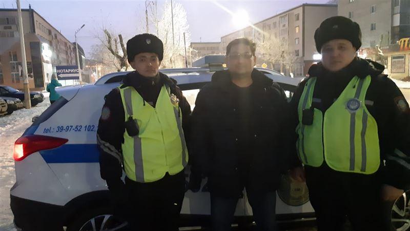 Полиция Костаная задержала мужчин, ограбивших таксиста