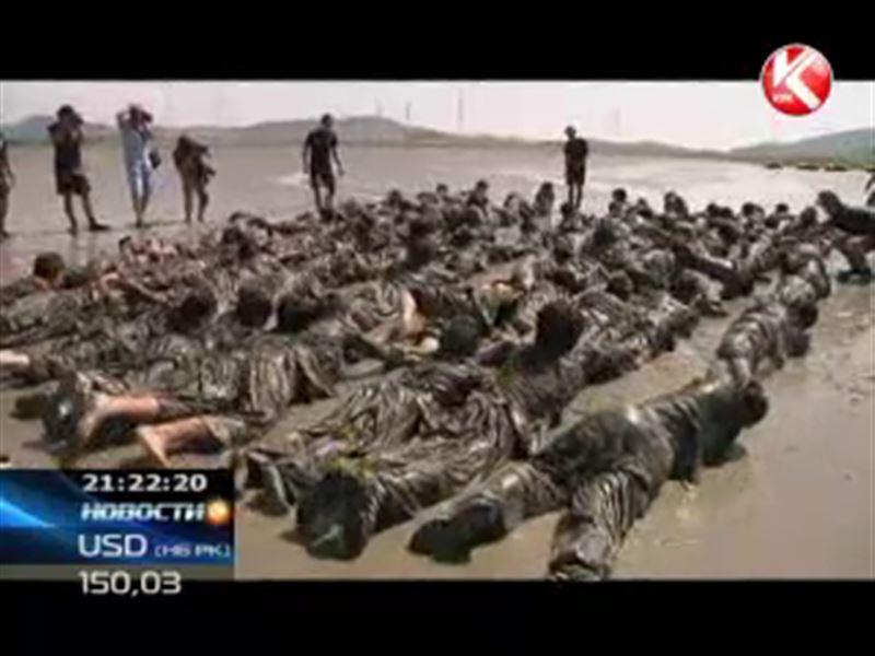 В Южной Корее открылся лагерь, в котором воспитатели - морские пехотинцы в отставке