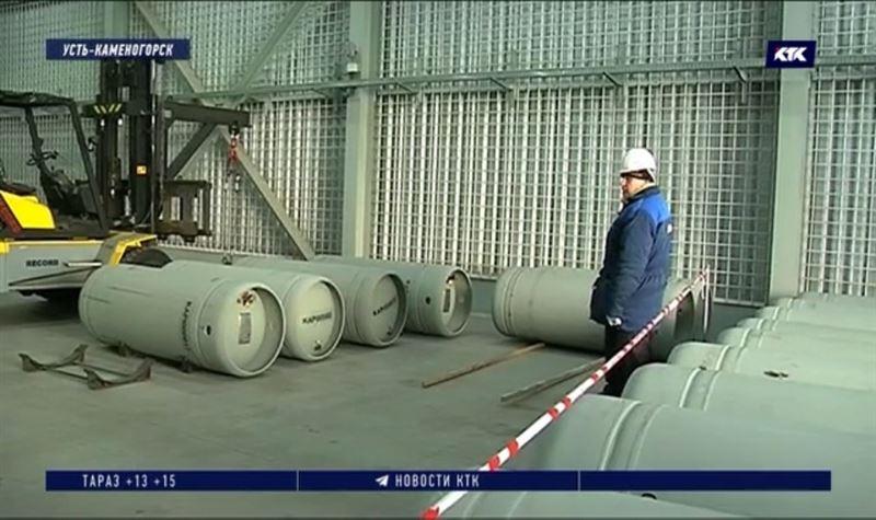 В Усть-Каменогорске показали, как хранится ядерное топливо