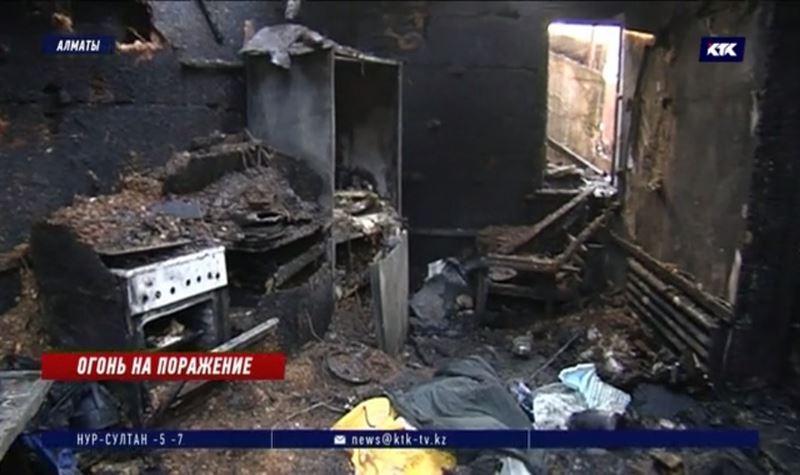 В алматинском приюте сгорели животные, едва не погибли люди