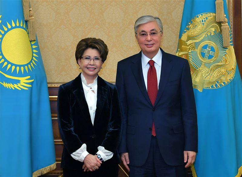 Глава государства лично поздравил Розу Рымбаеву