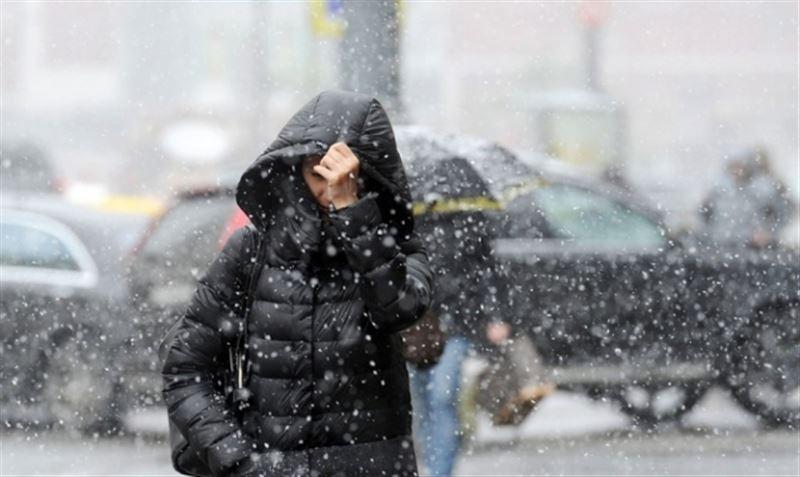 Снег и ветер прогнозируют в Казахстане 14 декабря